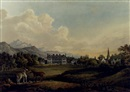 Sir Thomas Gage, A view in Killarney: Lord Kenmare's house
