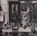 Simone Mary Bouchard, Interior with dining table