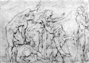 Giovanni Battista di Matteo Naldini, A group of figures fighting