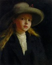 George Murray, Portrait of a young girl