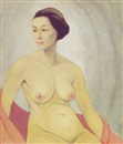 Henrietta Shore, Nude (Self-portrait)