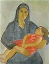 Edith Basch, Mother and child
