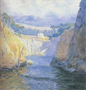 Guy Rose, Vista from Point Lobos