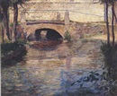 Guy Rose, Bridge over stream