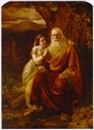 Circle Of Edward Matthew Ward, King Lear and his daughter