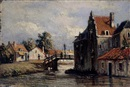 Johannes Jacobus (Jan) Heppener, A view of a canal