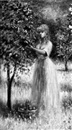Philip A. Corley, Young woman picking apples