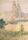 Guy Rose, The cathedral, Tours