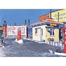 Walter Burt Adams, Gas station, Evanston