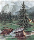 Walter Ufer, September fog in Tirol