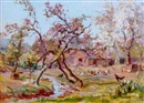 Alexander Carruthers Gould, Apple blossom, Lower Hay Farm