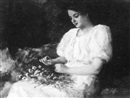 Oscar Miller, Woman arranging flowers