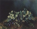 Anne Primrose Jury, Still life with violets