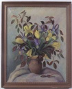 Harriette G. Miller, Iris and tulips