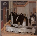 Giovanni di Paolo, The death of Saint Catherine of Siena