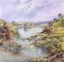 Jose Vives-Atsara, River landscape