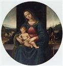 Manner Of Giovanni di Niccolò Mansueti, The Madonna and Child