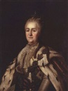 After Virgilius Erichsen, Portrait of Catherine the Great