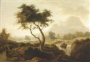 Attributed To William Ashford, An Irish landscape
