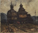 Nikolai Antonovich Prokopenko, Village church