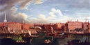Manner Of Samuel Wale, View of the Thames