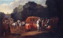 Attributed To Alexander van Gaelen, William III's procession to the houses of Parliament