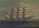 "Kwong Sang, Portrait of the British ship ""Vimeira"""