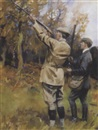 Septimus E. Scott, Out shooting