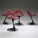 Santiago Calatrava, Tabourettli theater chairs (set of 4)