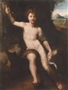 Italian School-Umbrian (16), The Infant Saint John the Baptist in a landscape