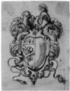 Angelo Michele Colonna, Design for a coat-of-arms with a gryphon