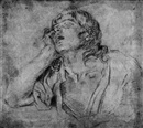 Giovanni Maria Viani, Study of a resting male figure
