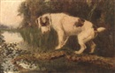 Arthur Batt, A terrier on a branch