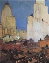 Jean Georges Cornelius, Vue de New York City