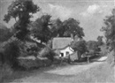 William Staples Drown, A Warwickshire cottage