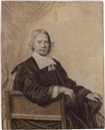 Attributed To Anthony van Ravesteyn the Younger, Portrait of a seated man, aged 39