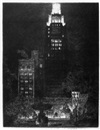 Horace Devitt Welsh, American Radiator Building at night