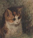 Arthur Batt, Study of a kitten