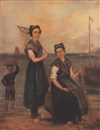 Virginie Geo-Remy, Dutch fishergirls