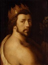 Cornelis Cornelisz van Haarlem, Portrait of a man as Apollo (self portrait?)