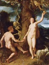 Circle Of Cornelis Cornelisz van Haarlem, The Fall of Man