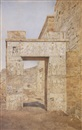 Henry Roderick Newman, The gateway of Philadelphus, Philae