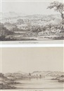 Jonathan Fisher, Eight views of Curraghmore House in 1768, Waterford; A view of the city of Waterford