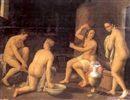 Attributed To Cornelis Cornelisz van Haarlem, In the bath house