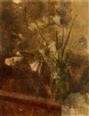 William Coldstream, Flowers in a vase