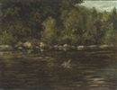 William Ellis Barrington-Browne, The Priory Pool, the River Wye