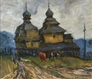 Nikolai Antonovich Prokopenko, Village church in the spring