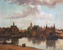 After Johannes (van Delft) Vermeer, View of Delft