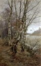 A. Lee Rogers, Birch trees at Upperpond, Burnham Beeches