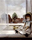 Evert Thielen, Doll seated in the window